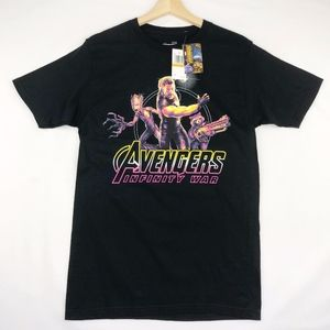 Marvel Mens Small Thor Avengers Graphic T-Shirt